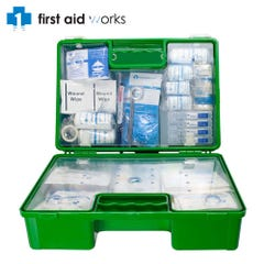 Vision Safe Ultimate First Aid Kit Hard Case Wall Mountable / Toolbox