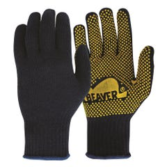 Frontier Knitted Polycotton Polka Dot Glove