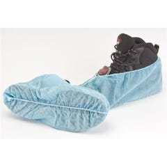Frontier Disposable Non-skid Shoe Covers - Blue