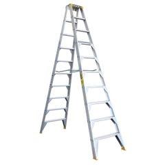 Bailey Step Ladder Double Sided Aluminium 3m 150kg