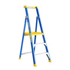 Bailey Platform Step Ladder 3 Step Fibreglass 150kg