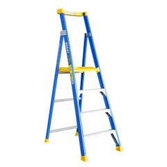 BaileyPlatform Step Ladder 4 Step Fibreglass 150kg