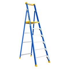 Bailey Platform Step Ladder 6 Step Fibreglass 150kg