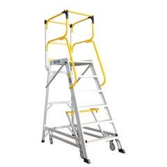 Bailey Access Platform Ladderweld 200kg 6 Step