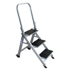 Bailey Stairway Ladder With Safety Rail 3 Step