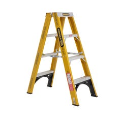 Gorilla Double Sided Step Ladder Industrial F/Glass 150kg 1.2m