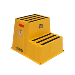 Gorilla 2-Step 150kg Safety Moulded Yellow Steps