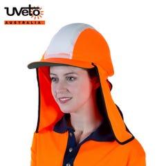 Uveto Gobi Over Hat Micro Mesh Hi Vis - Orange