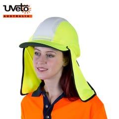 Uveto Gobi Over Hat Micro Mesh Hi Vis - Yellow