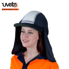 Uveto Gobi Over Hat Micro Mesh - Navy