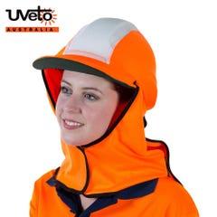 Uveto Gola Over Hat Hi Vis Micro Mesh - Orange