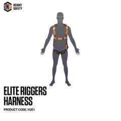 LINQ Elite Riggers Harness Standard (M L) cw Harness Bag (NBHAR)