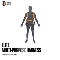 LINQ Elite Multi-Purpose Harness Standard (M L) cw Harness Bag (NBHAR)