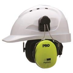 Pro Choice Python Slimline Hard Hat Earmuffs Class 5, -31db
