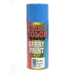 Ultracolor Spray Paint Gloss Black 250g