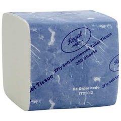 Regal Interleaved Toilet Tissue 2 Ply 250 Sheet 36 Packs