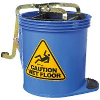 Oates C'Tract Wringer Bucket Blue 15L