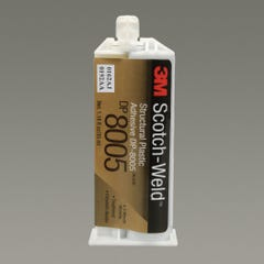 3M Scotch-Weld Structural Plastic Adhesive DP8005, Off-White, 45 mL Duo-Pak