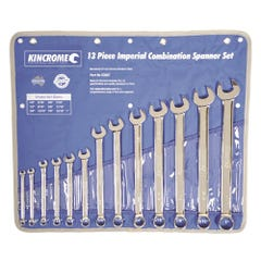 Kincrome Combination Spanner Set 13 Piece