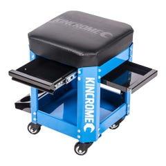 Kincrome Workshop Creeper Seat 2 Drawer Electric Blum