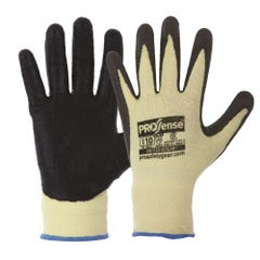 Pro Choice 13 Gauge Knitted Kevlar With Black Nitrile Palm Gloves