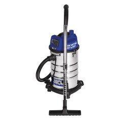 Kincrome Wet & Dry Garage Vacuum 30L 240V/1250W