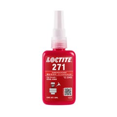 Loctite 271 Threadlocking Adhesive High Strength, Low Viscosity 10ml