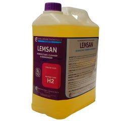 Challenge Chemicals Lemsan (H2) Disinfectant, Cleaner & Deodouriser 5L