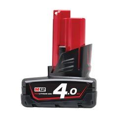 Milwaukee M12 4.0Ah REDLITHIUM-ION Battery Pack