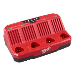 Milwaukee M12 Four Bay Sequential Charger