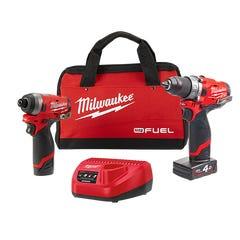 Milwaukee M12 FUEL 2 Piece Power Pack 2A