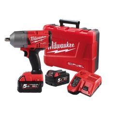 """Milwaukee M18 FUEL 1/2"""" High Torque Impact Wrench with Pin Detent Kit"""