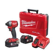 "Milwaukee M18 FUEL 1/4"" Hex Impact Driver Kit"