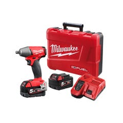 """Milwaukee M18 FUEL 1/2"""" Impact Wrench with Friction Ring Kit"""