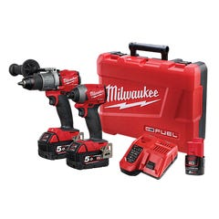 Milwaukee M18 FUEL 2 Piece Power Pack 2A2