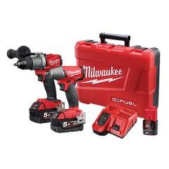 Milwaukee M18 FUEL 2 Piece Power Pack 2C2