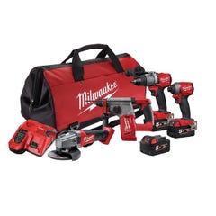 Milwaukee M18 FUEL 4 Piece Power Pack 4A2