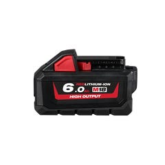 Milwaukee M18 REDLITHIUM-ION HIGH OUTPUT 6.0Ah Battery Pack