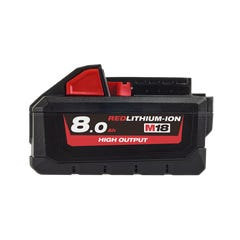 Milwaukee M18 REDLITHIUM-ION HIGH OUTPUT 8.0Ah Battery Pack