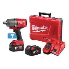 """Milwaukee M18 FUEL ONE-KEY 3/4"""" High Torque Impact Wrench with Friction Ring Kit"""