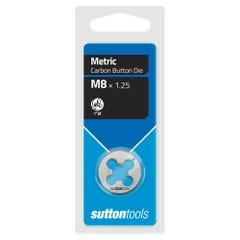 """Sutton M400 Button Dies - M - 1"""" Diameter Thread Size 12 mm x Pitch 1.75"""
