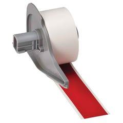 Brady Indoor Outdoor Vinyl Labels Red 25.4mm