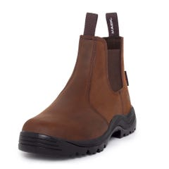 Mack Farmer Slip On Non-Safety Boots - Rocky Brown