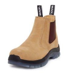 Mack Chippy Pen Slip-On Safety Boots - Honey