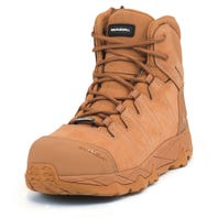 Mack Octane Zip-Up Safety Boots - Honey