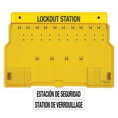 Master Lock Padlock Stations - 10 Lock Station. Contains 10 X Padlocks, 2 X Lockout Hasps, 24 X Do Not Operate Danger Tags (2pk)
