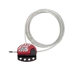 Master Lock Zenex™ Adjustable Cable Lockout 4.6m