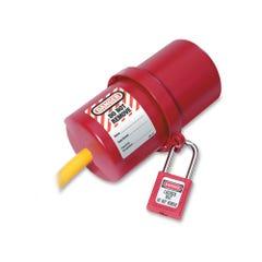 Master Lock Zenex™ Plug Lockout Large – 240 & 250 Volt Plugs