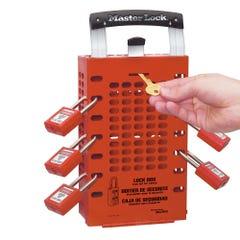 Master Lock Latch Tight™ Group Lock Boxes - Lock Box Red
