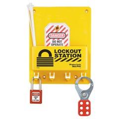 Master Lock Compact Lockout Station Kit